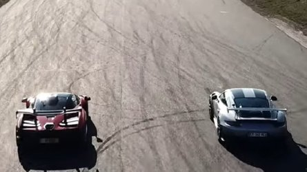 McLaren Senna Fights Porsche 911 GT2 RS In Drag Race
