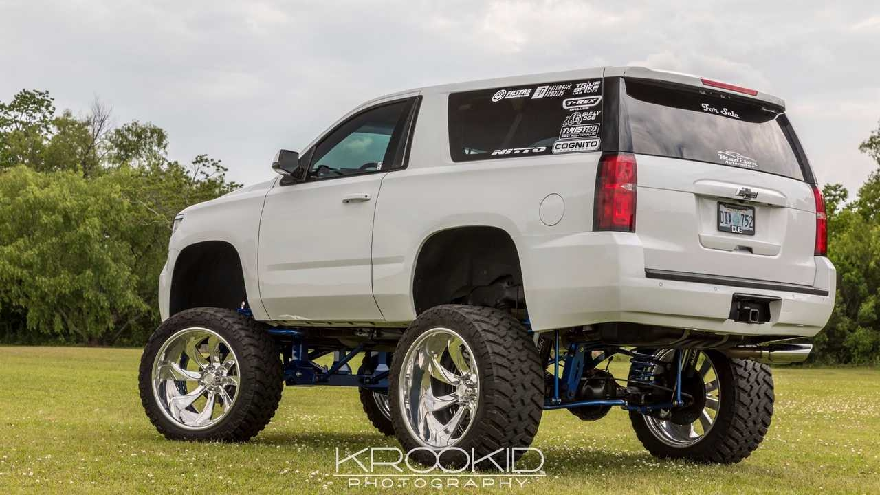 2015 Sema Build Chevrolet Tahoe Suburban