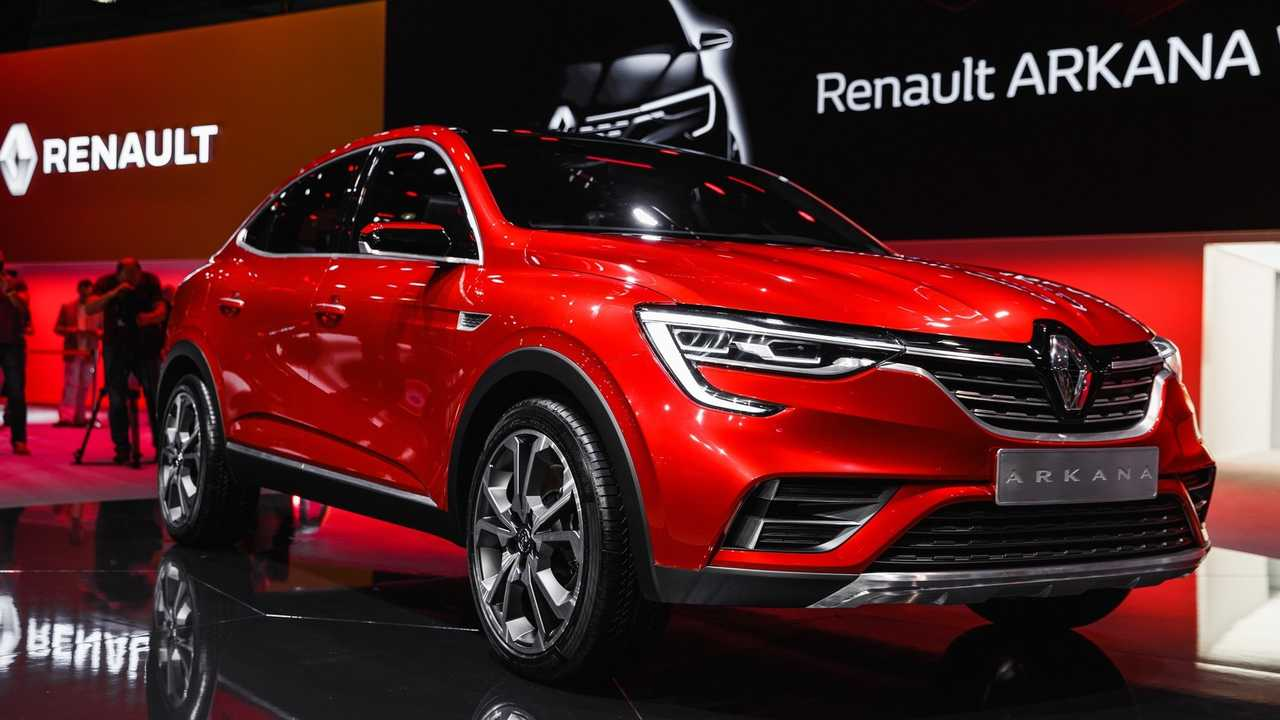 2019 Renault Arkana Chassis