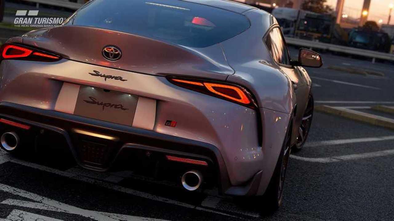 Toyota Supra dans GT Sport