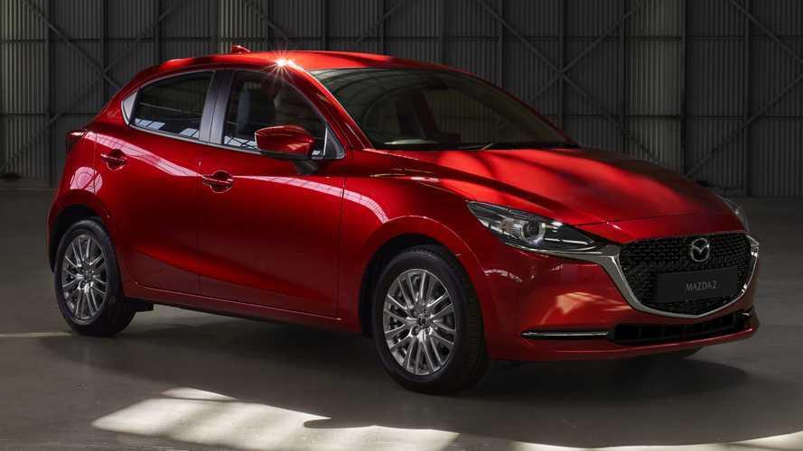 Mazda 2 restyling 2020