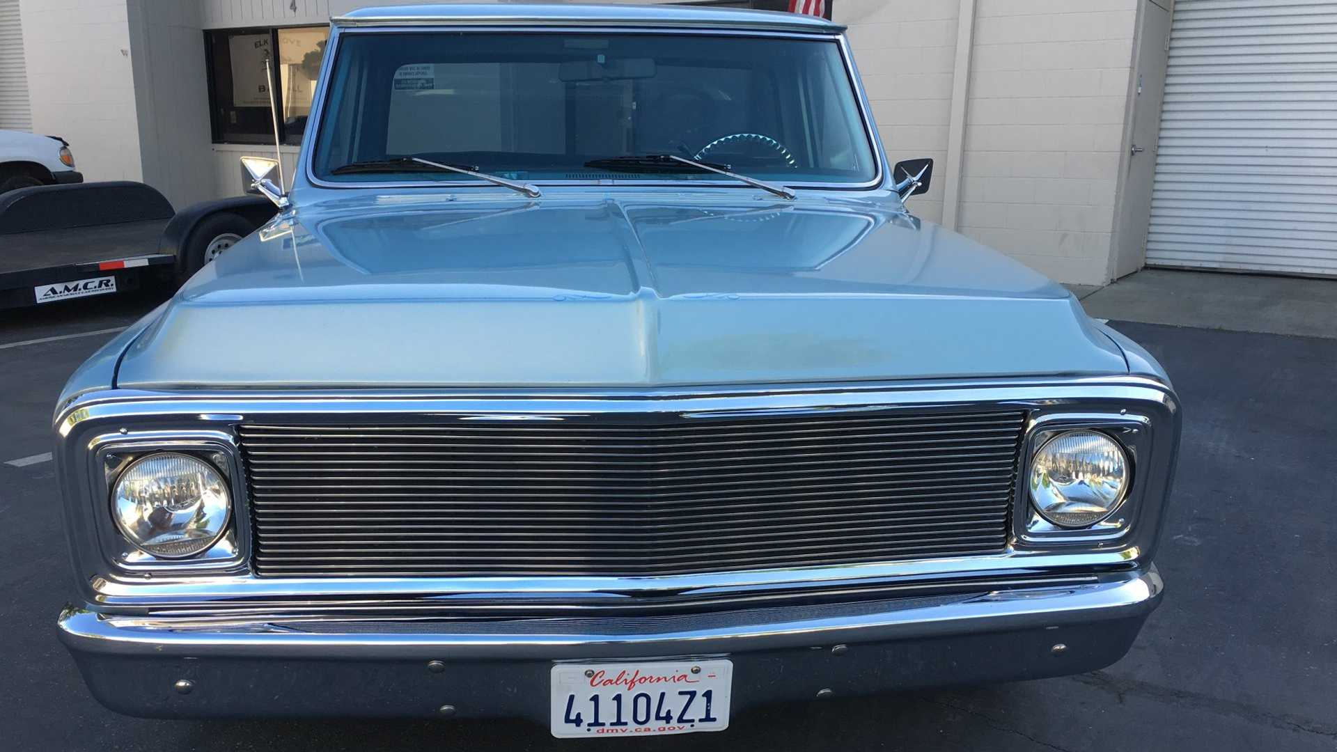"""[""""1969 GMC C10 Packs The Heart Of A Muscle Car""""]"""