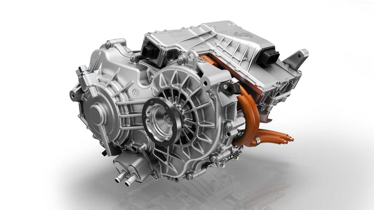 ZF 2-Speed Drive for Electric Passenger Cars