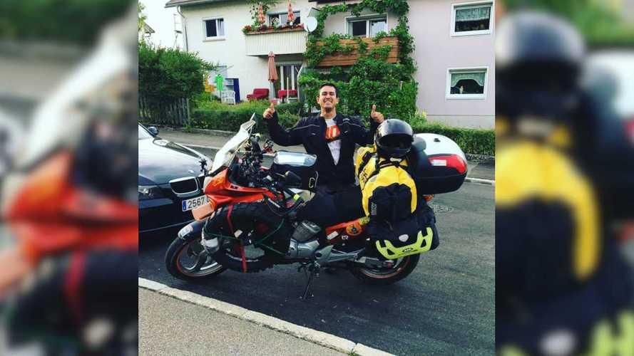 Spaniard Rides Honda XL125V Across Europe To Run Mongol Rally