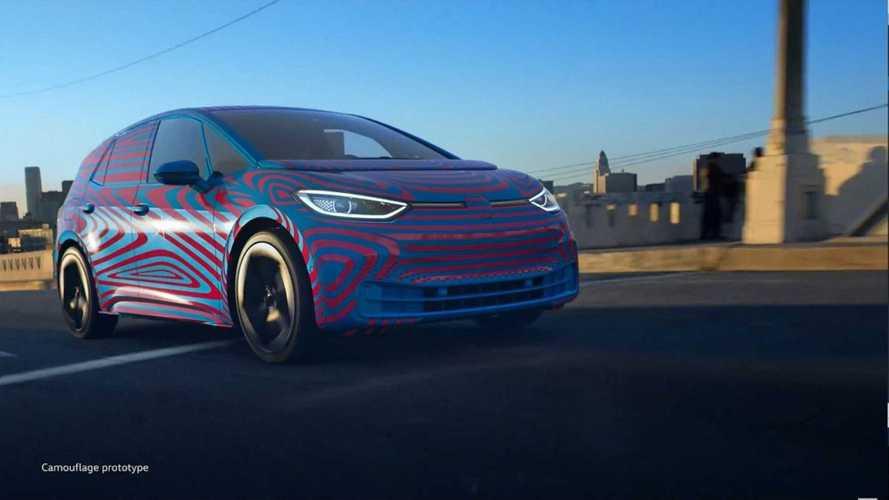 Elétrico Volkswagen ID.3 aparece quase pronto em vídeo oficial