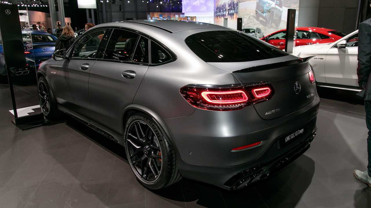 Mercedes Amg Glc 63 63 Coupe Introduce Their Ample Power Update