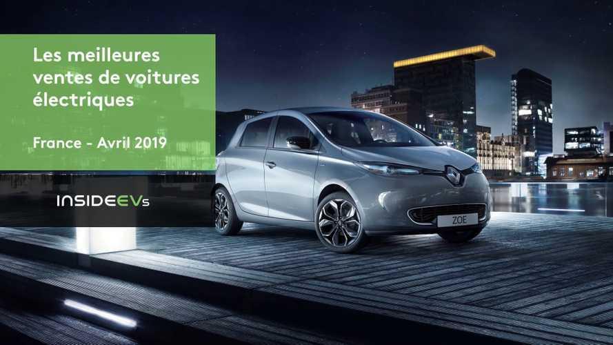 VIDÉO - Les 10 meilleures ventes électriques en avril 2019