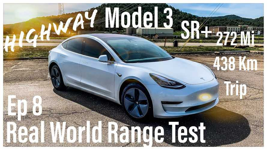 Tesla Model 3 Standard Range Plus Real-World Highway Range Test