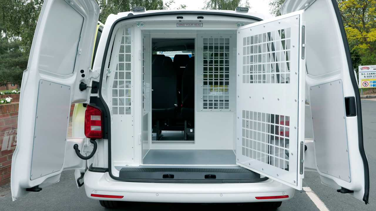 VW Transporter Prisoner Van