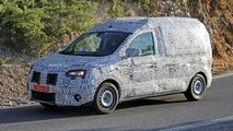dacia dokker spied first time
