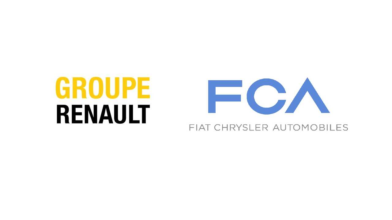 Groupe Renault - FCA logos