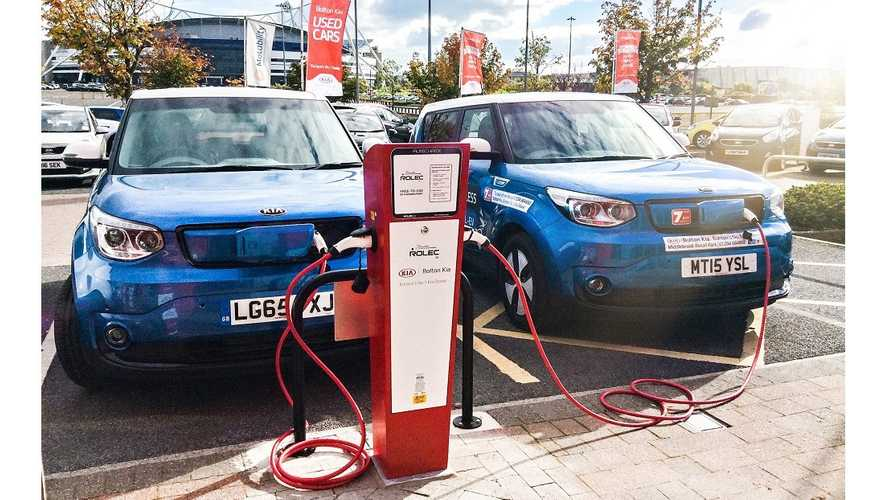 Rolec Supplied Over 1,000 Charging Stations For Kia In UK