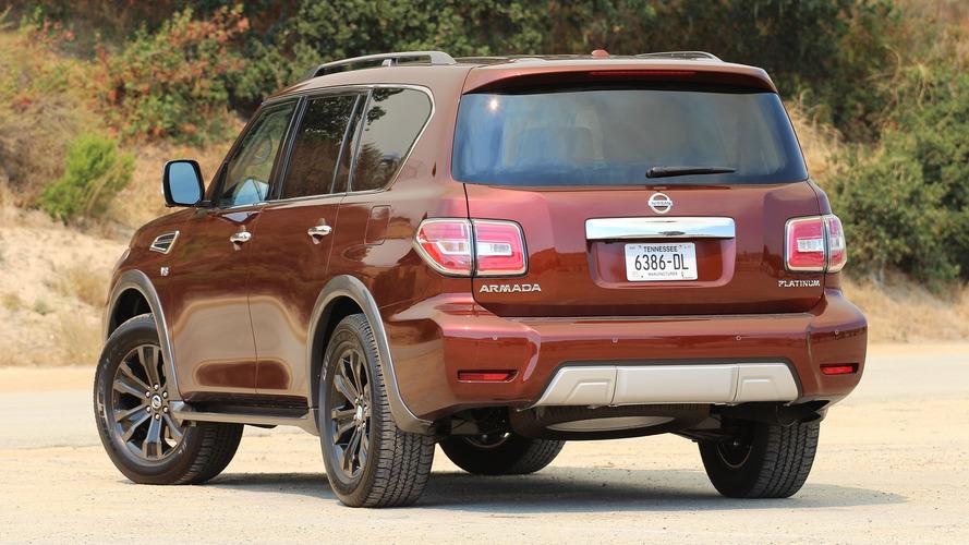 2017 Nissan Armada Configurations >> First Drive 2017 Nissan Armada