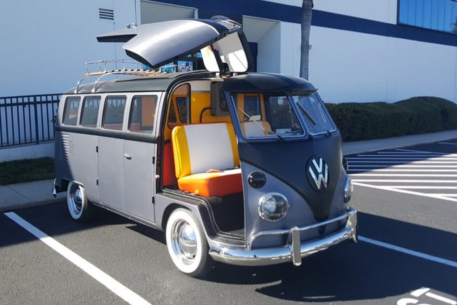 For $150,000, This Volkswagen Bus Will Go Back to the Future