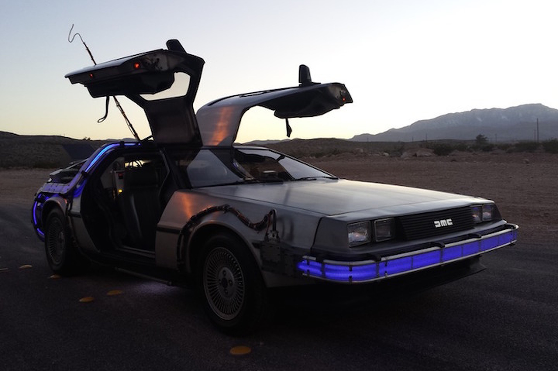 Authentic 'Back to the Future' DeLorean Hits eBay, Flux Capacitor Included  - 1186500
