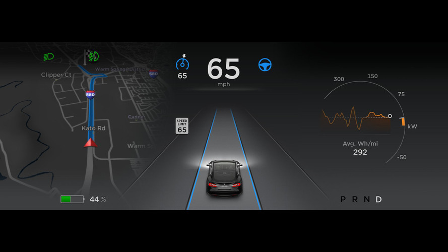 Tesla Autopilot update will steer on and off highway interchanges