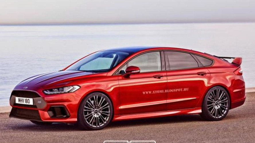 Ford Mondeo RS renders show great potential