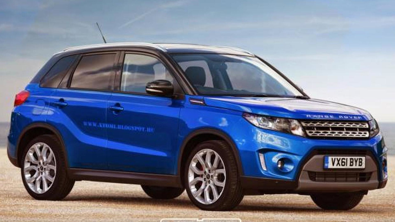 Range Rover Stormer rendering / X-Tomi Design