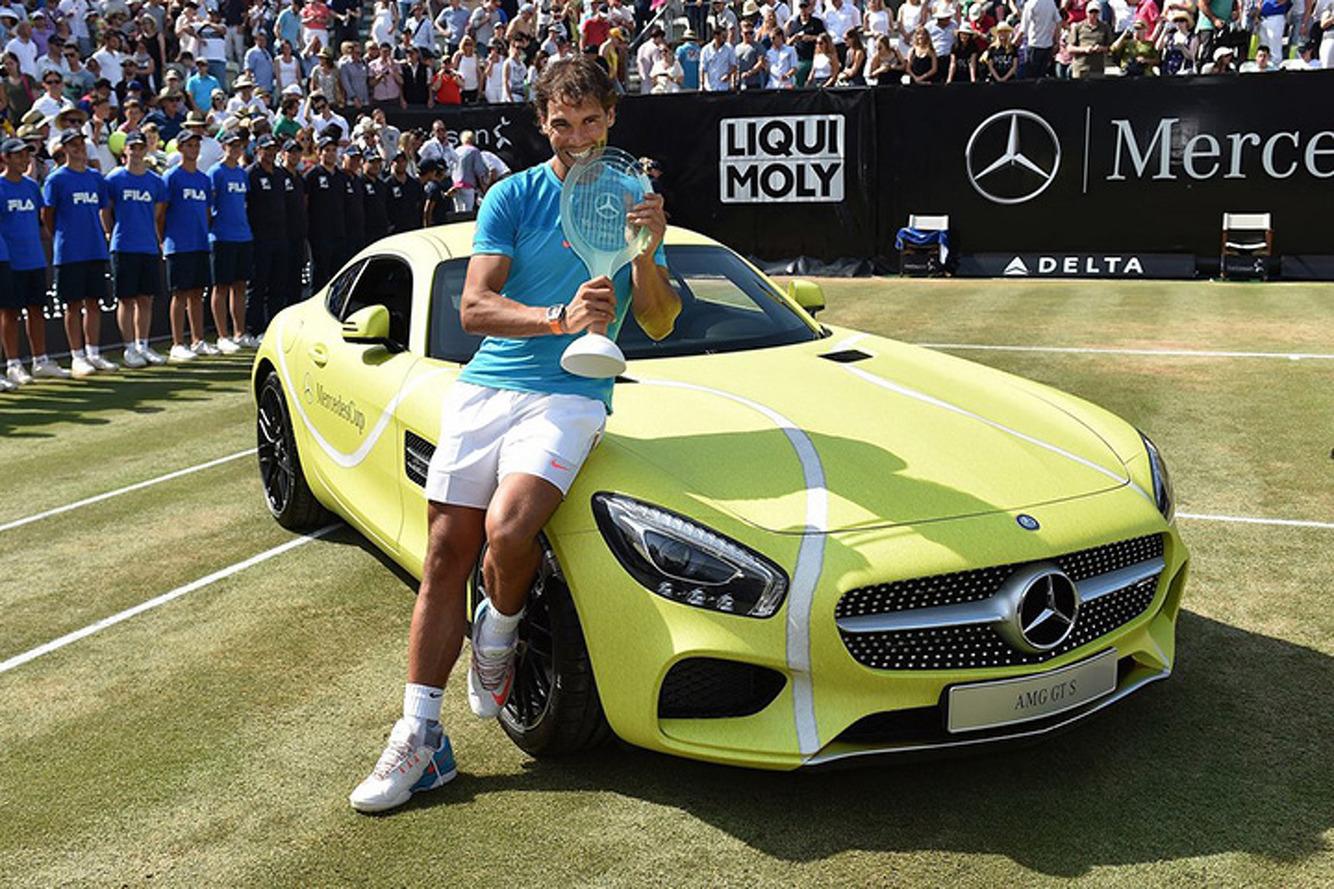 226b0bfe97a Rafael Nadal Says His Mercedes-AMG GT is Good