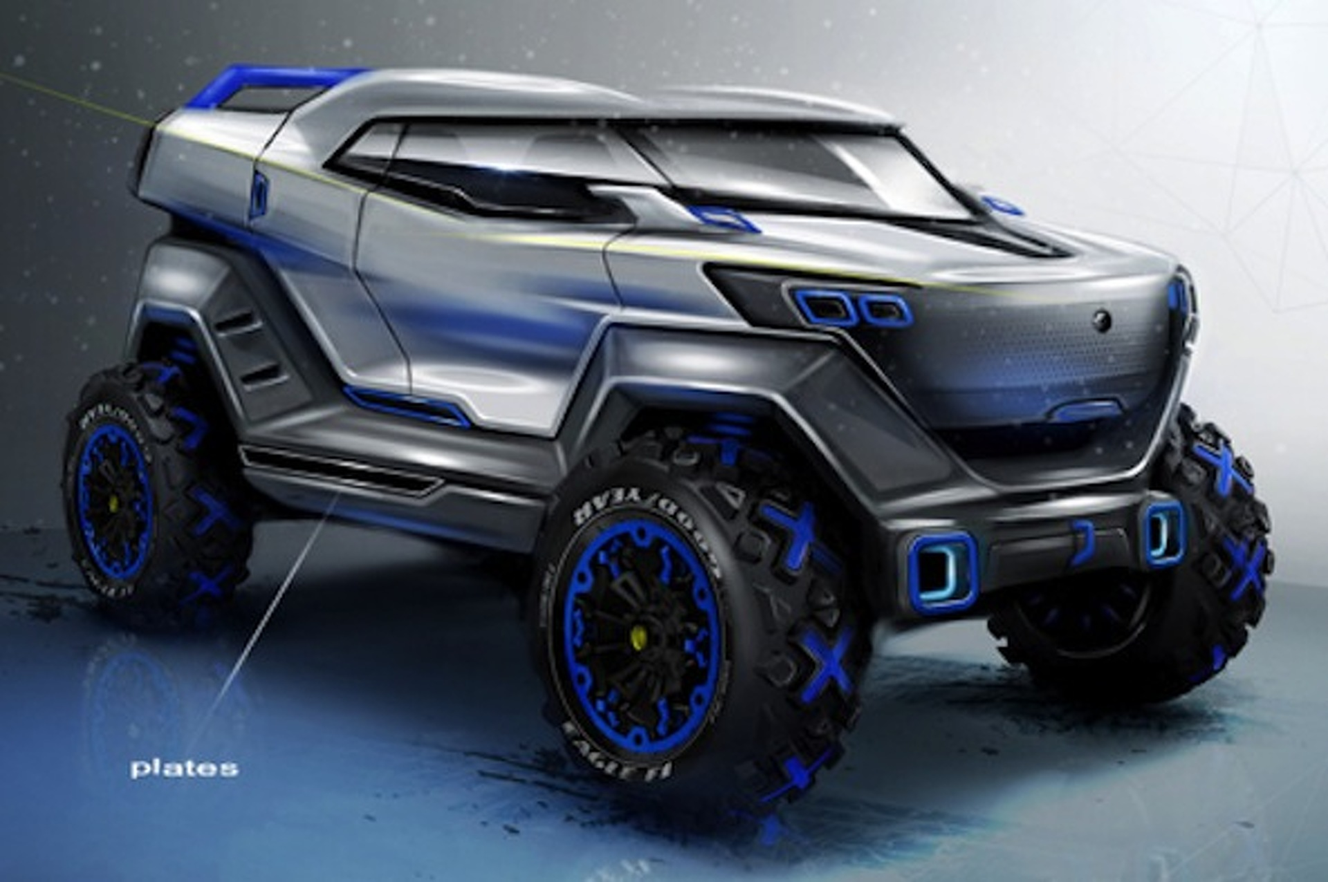 Concept off road car