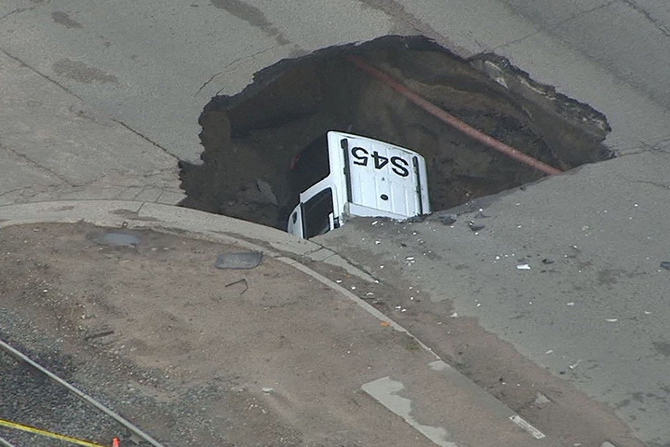 Sinkholes Are Swallowing Up Cars in Colorado and Ohio