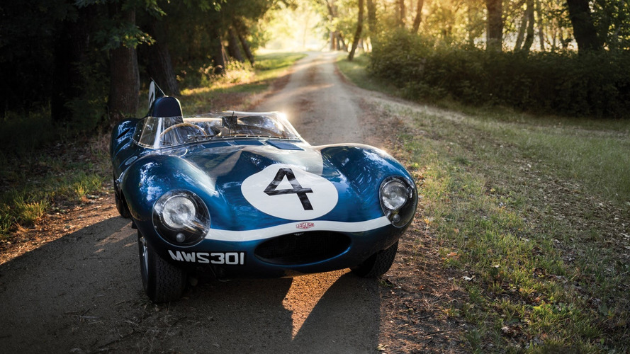 1956 Le Mans-winning Jaguar D-Type set to break auction record for a British car