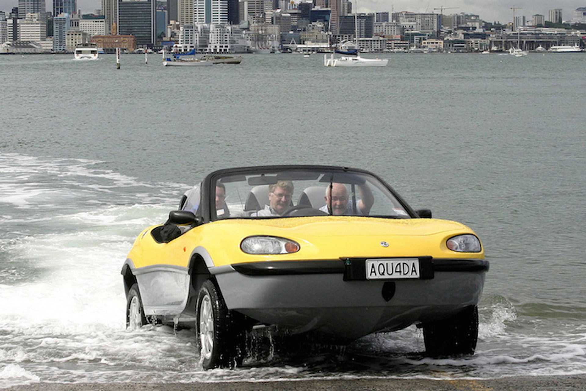 Gibbs is Selling Off 20 of Its Aquada Amphibious Sports Cars