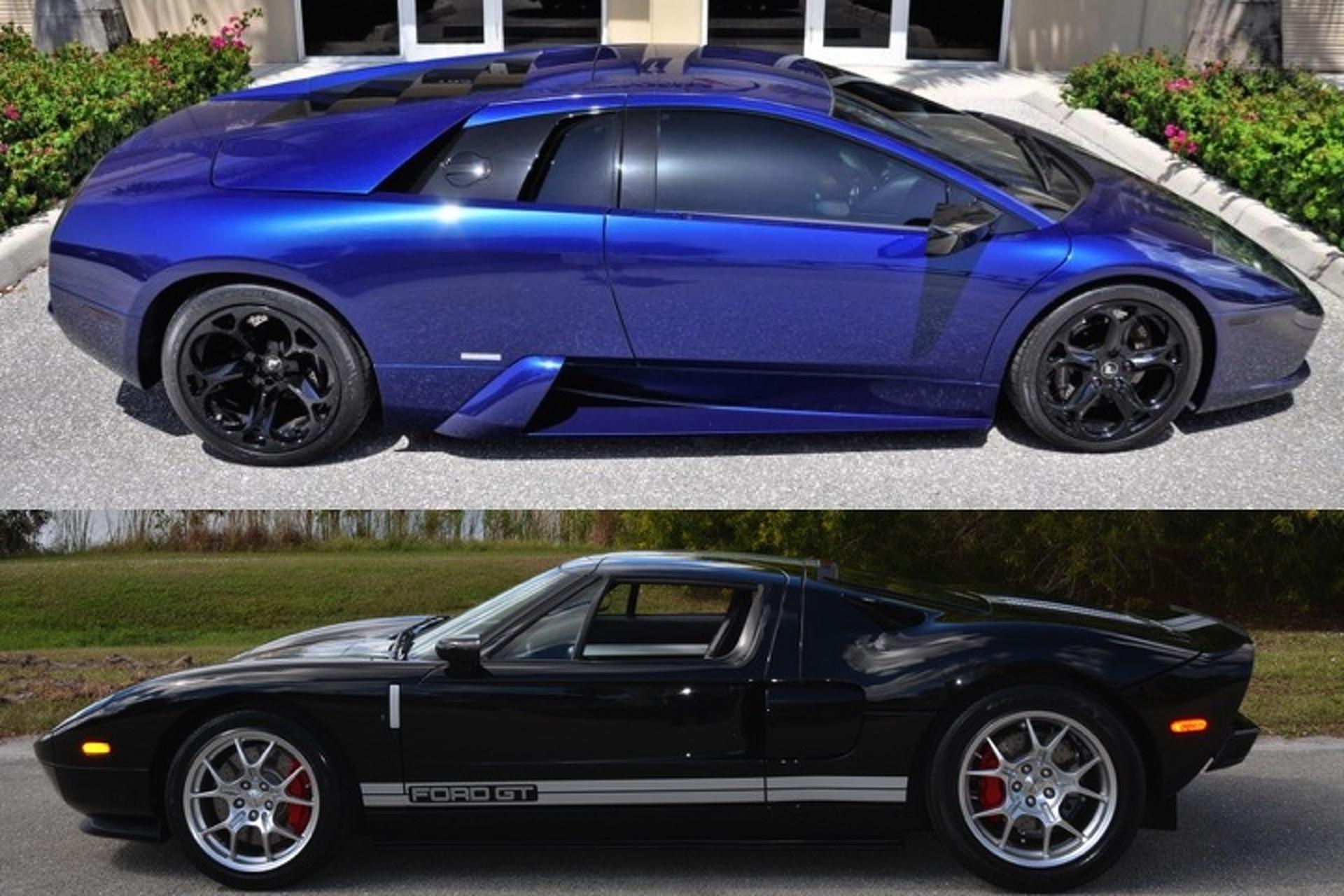 Pristine  Ford Gt Or Hp Lamborghini Murcielago Which Would You Buy