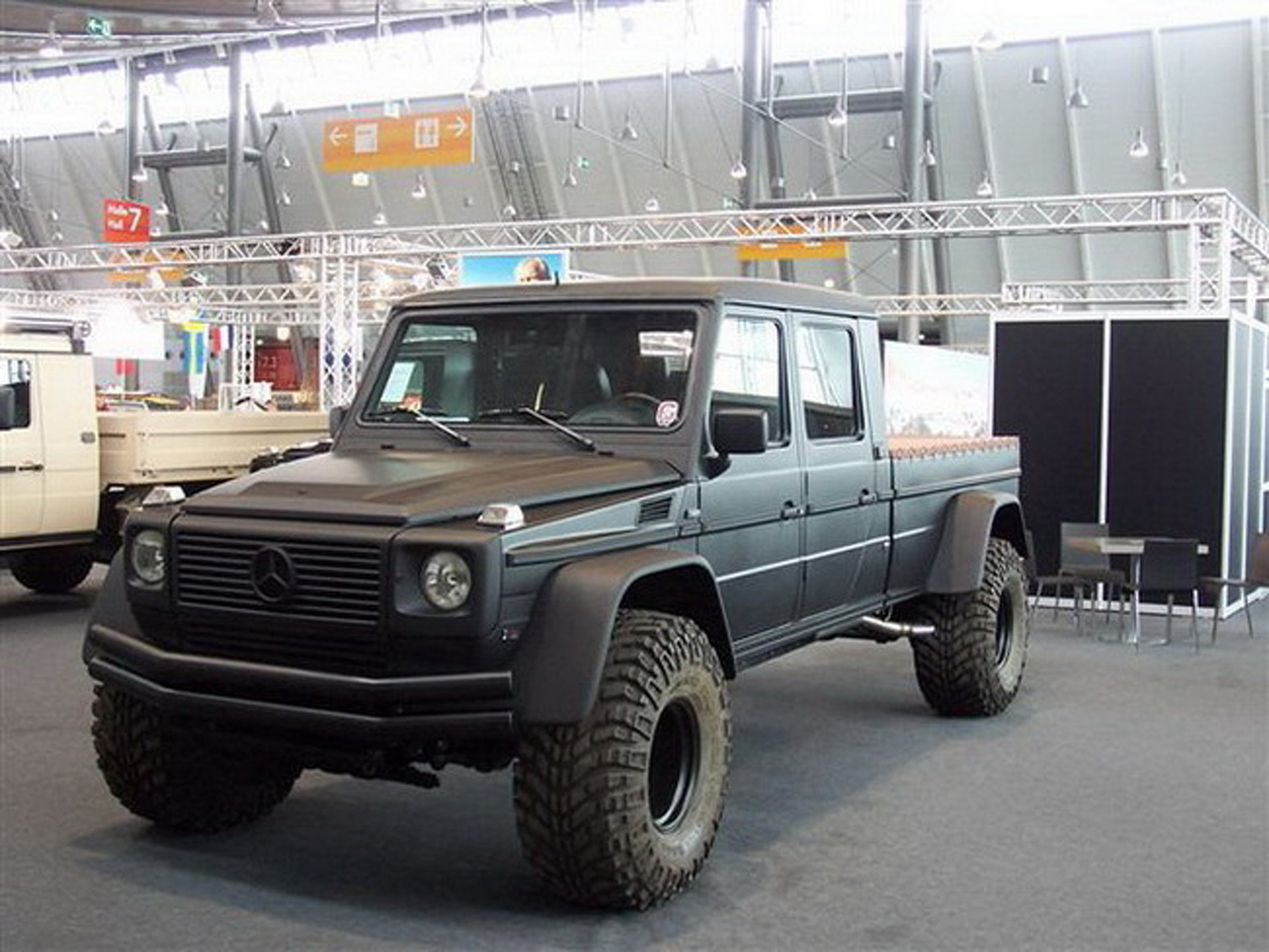 Jaw Dropper Mercedes G Wagon Pickup Is Ready To Destroy
