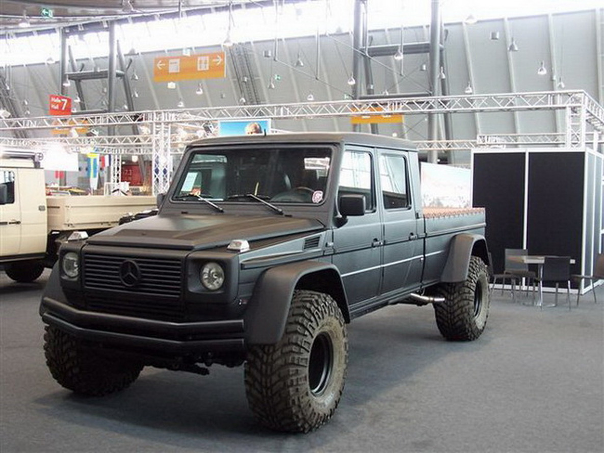 Jaw Dropper: Mercedes G-Wagon Pickup is Ready to Destroy Buildings