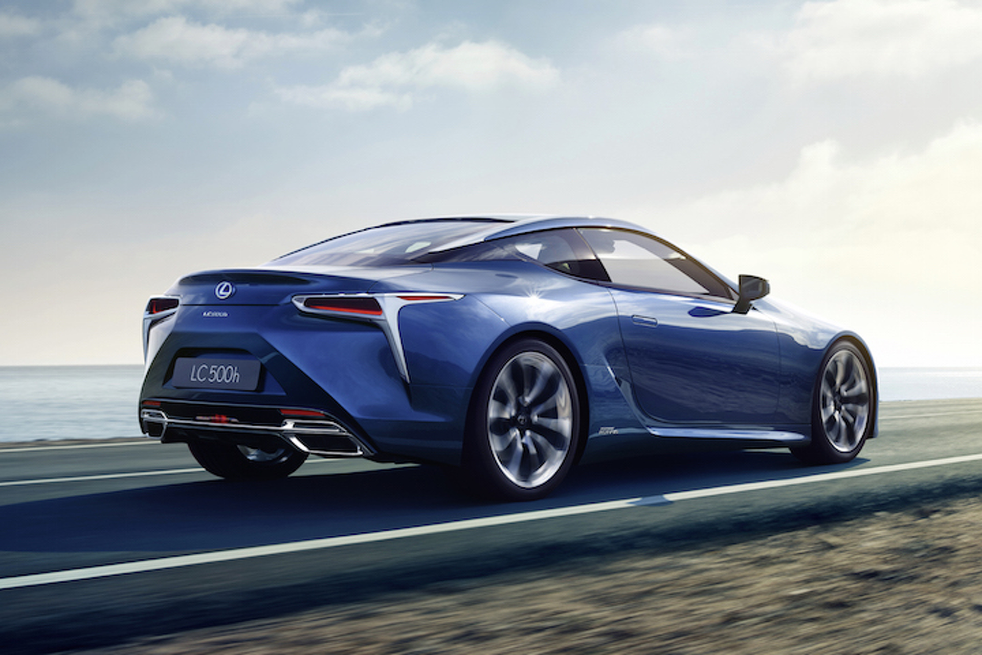 Lexus Just Built Its First Hybrid Sports Car And It S Dramatic