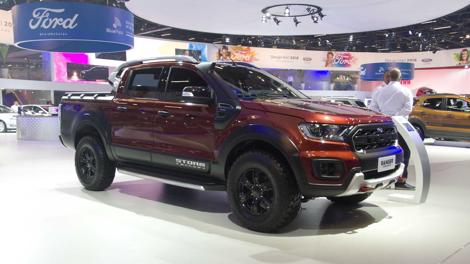 Salão de SP: Ford Ranger Storm e Black testam reação do público Ford-ranger-black-e-storm-salao-de-sp-2018