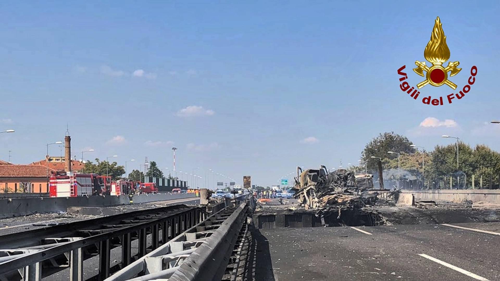 Tanker Exploding On Highway Looks Like Hell On Earth