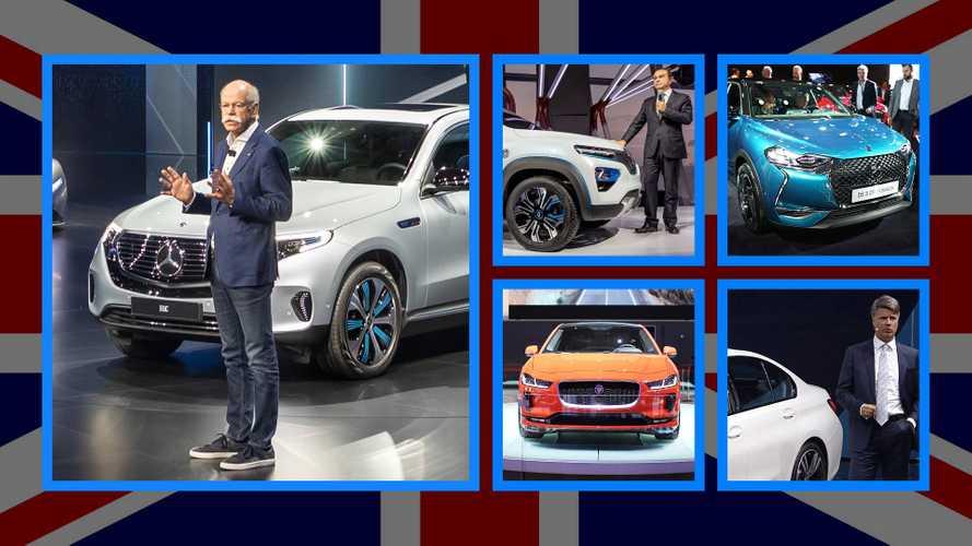 Brexit, al Salone di Parigi le Case auto si dicono preoccupate