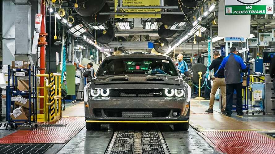 2019 Dodge Challenger SRT Hellcat Redeye Rolls Off Assembly Line