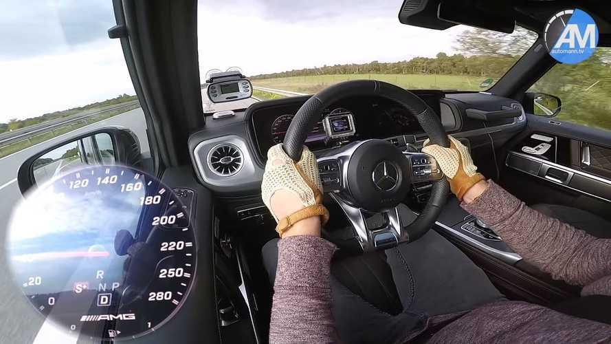 Mercedes-AMG G63 Hızlanma Testi