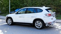 BMW X1 Refresh Spy Photos