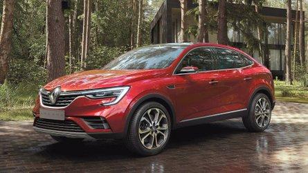 Renault registra SUV cupê Arkana no Brasil