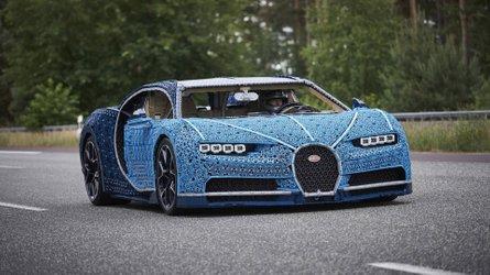 Four Door Bugatti Super Sedan Possibly Spotted Under Wraps
