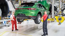 2019 Porsche Macan en production à Leipzig