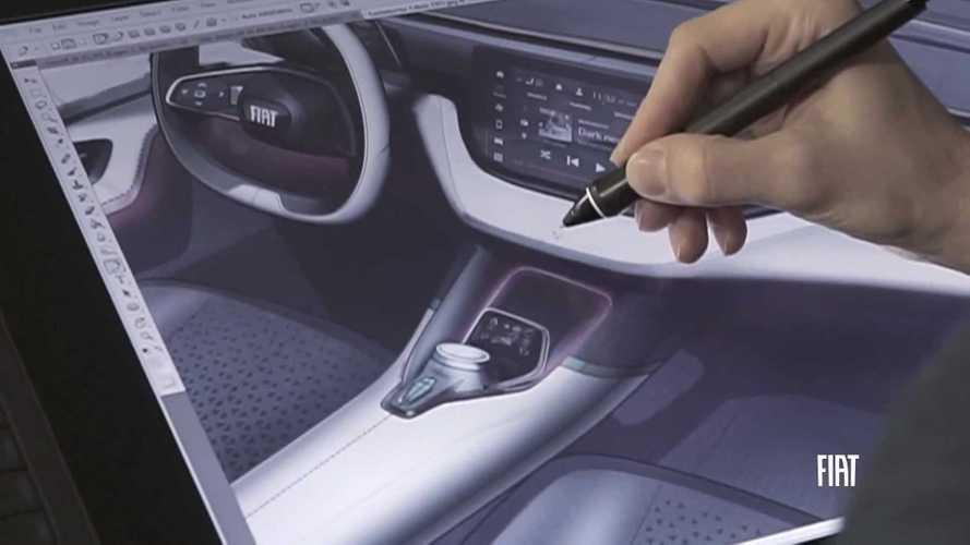 Conceito de SUV da Fiat antecipa interior arrojado