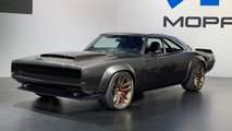 Hellephant Supercharged 426 Hemi And 1968 Dodge Charger at SEMA