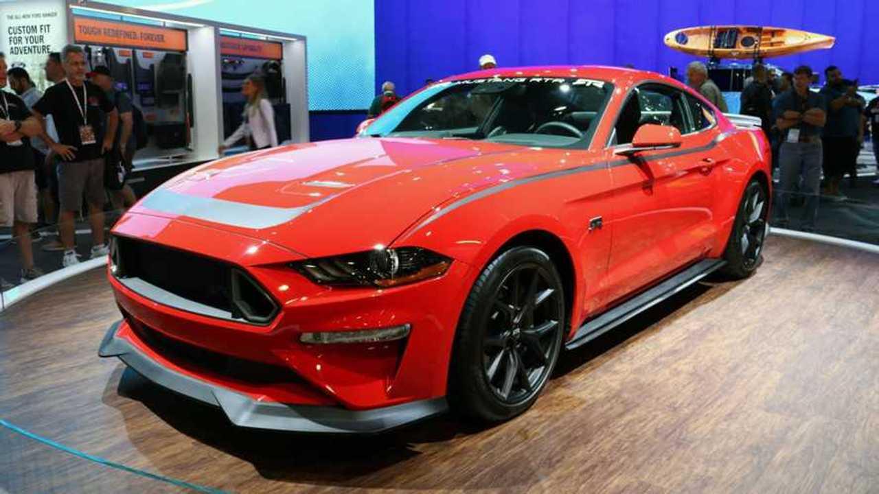 Ford Mustang SEMA Live