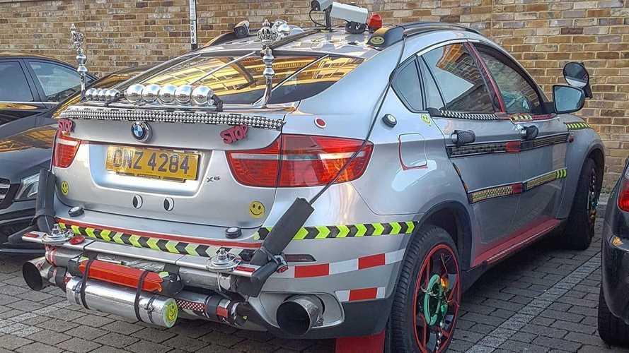 Megmagyarázhatatlan, amit ezzel az X6-os BMW-vel tettek