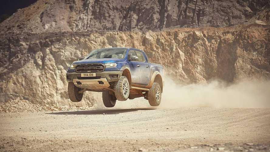 Teljesítményspecifikus Ford Ranger Raptor érkezett az európai vásárlóknak