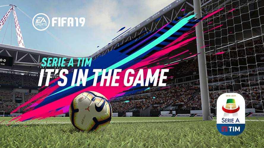 FIFA 19, la Serie A TIM è sempre più realistica