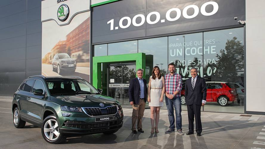 Skoda celebrates manufacturing one millionth SUV