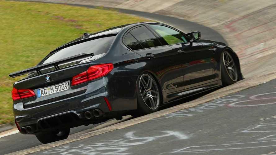 BMW M5 por AC Schnitzer rodando en Nürburgring