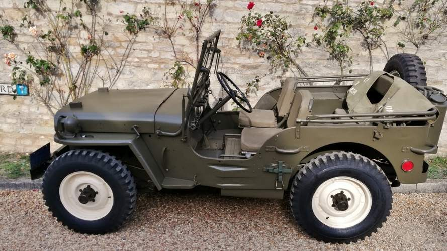You Can Now Buy Steve McQueen's Jeep