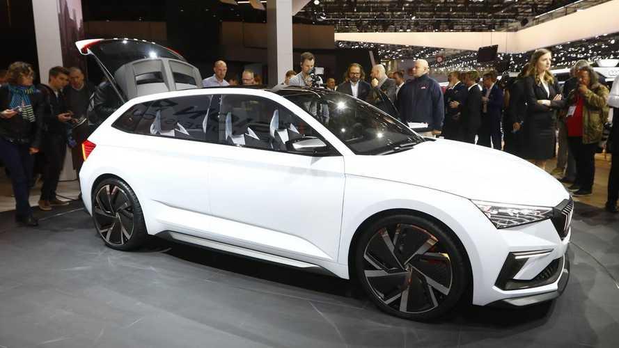 Skoda Vision RS concept at the Paris Motor Show
